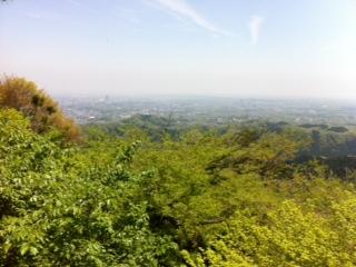 高尾山展望